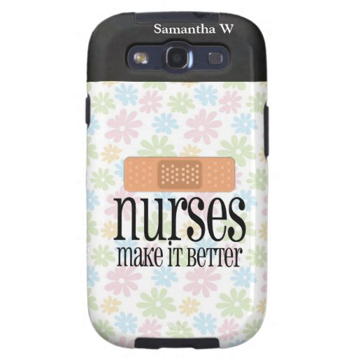 Nurses Make it Better, Bandage Samsung Galaxy S3 Cases