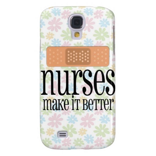 Nurses Make it Better, Bandage Samsung Galaxy S4 Cover