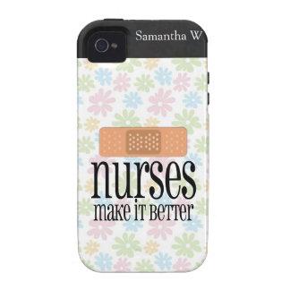 Nurses Make it Better, Bandage iPhone 4 Cover