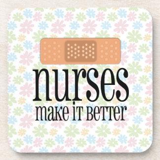 Nurses Make it Better, Bandage Coasters