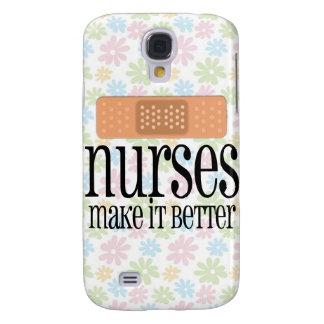 Nurses Make it Better, Bandage Galaxy S4 Case