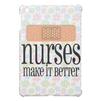 Nurses Make it Better, Bandage iPad Mini Cover