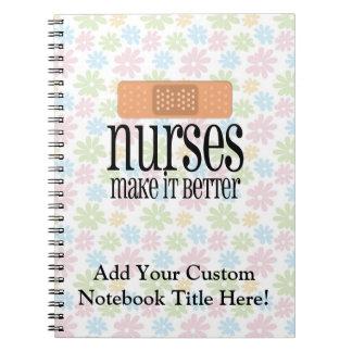 Nurses Make it Better, Bandage Note Books