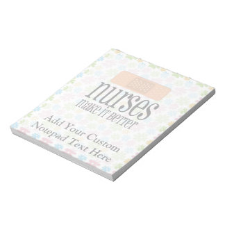 Nurses Make it Better, Bandage Notepads
