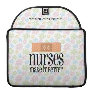 Nurses Make it Better, Bandage Sleeves For MacBook Pro