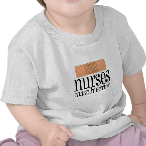 Nurses Make it Better, Bandage Tee Shirts