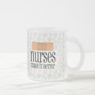 Nurses Make it Better, Cute Nurse Bandage Mug