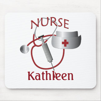 Nurses Name Nurse Custom Mousepad