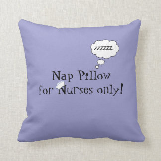 Nurses Nap Pillow-Lavender Cushion