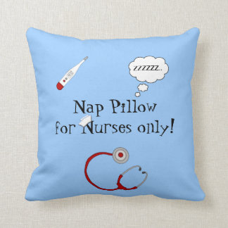 Nurses Nap Pillow-Stethoscope/Thermometer Cushion