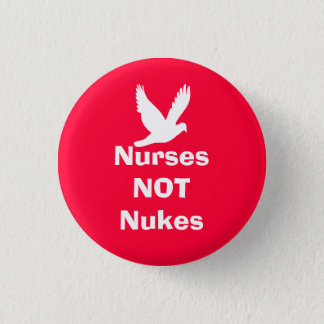 Nurses Not Nukes Scottish Independence Peace Badge