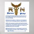 Nurses Pledge 16X20 Please View About Design Poster