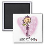 Nurses R Angels Tshirts and Gifts Square Magnet