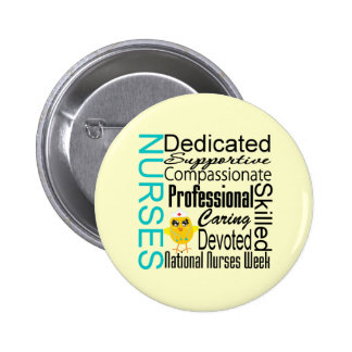 Nurses Recognition Collage - National Nurses Week 6 Cm Round Badge
