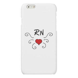 Nurses RN Love Tattoo iPhone 6 Plus Case