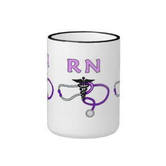 Nurses RN Stethoscope Mugs