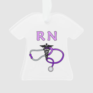 Nurses RN Stethoscope Ornament