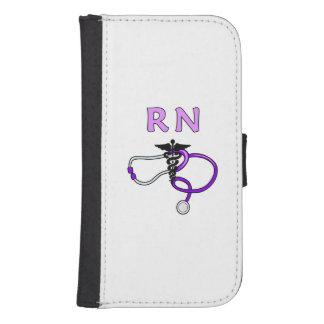Nurses RN Stethoscope Samsung S4 Wallet Case