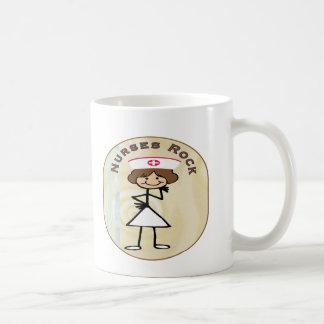 Nurses Rock Basic White Mug