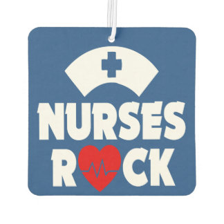Nurses Rock car air freshner Car Air Freshener
