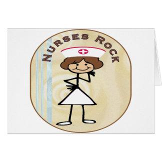 Nurses Rock Greeting Cards