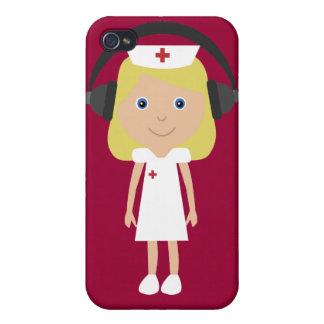Nurses Rock! iPhone 4 Cases