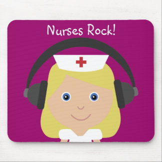 Nurses Rock! Mouse Mat