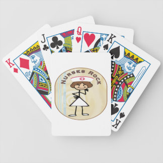Nurses Rock Playing Cards
