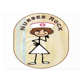 Nurses Rock Postcards