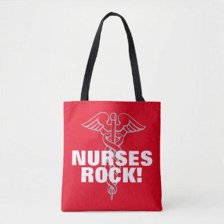 NURSES ROCK tote bag   Cool nursing week gift idea