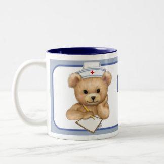 Nurse's Rock Two-Tone Coffee Mug