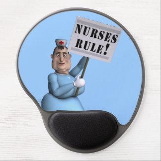 Nurses Rule! Gel Mouse Pad