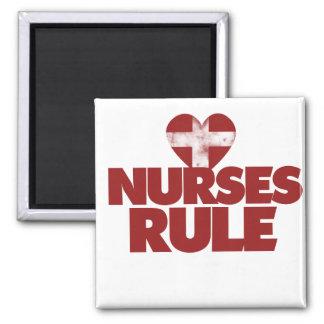 Nurses Rule Refrigerator Magnet