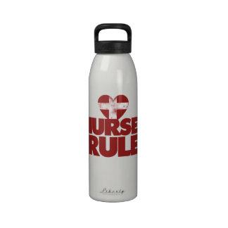 Nurses Rule Reusable Water Bottles