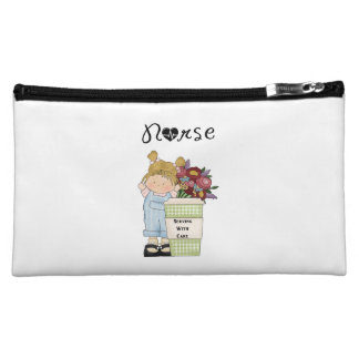 Nurses Serving With Care Cosmetic Bags