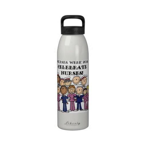 Nurses Week 2014 Celebrate Nurses Reusable Water Bottles