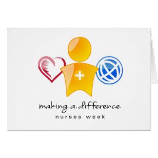 Nurses Week Notecard Note Card