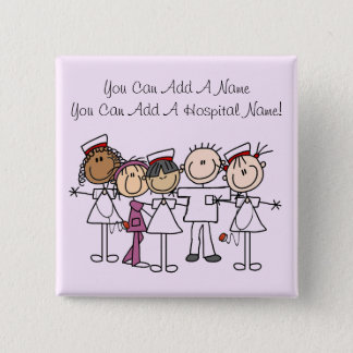 Nurses Week T-shirts and Gifts 15 Cm Square Badge