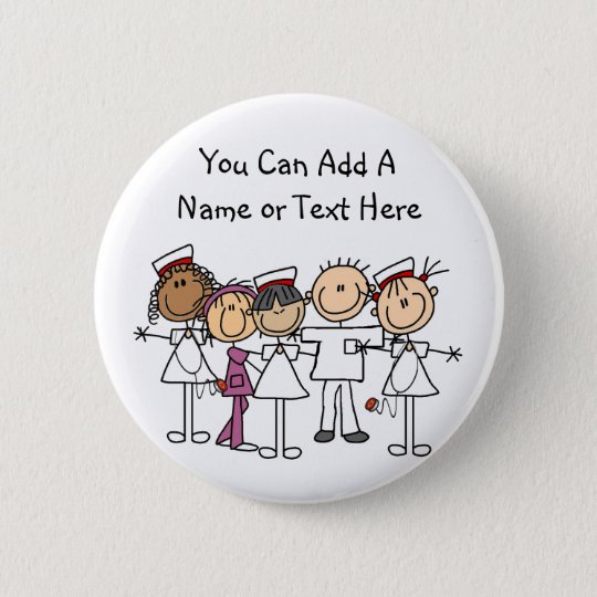 Nurses Week T-shirts and Gifts 6 Cm Round