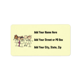 Nurses Week T-shirts and Gifts Label
