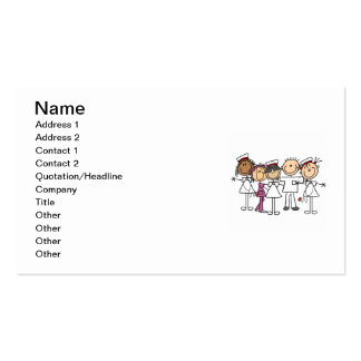 Nurses Week T-shirts and Gifts Pack Of Standard Business Cards