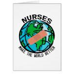 Nurses World Notecard Greeting Card