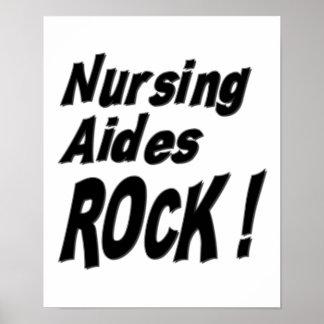 Nursing Aides Rock! Poster Print