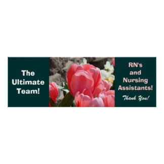 Nursing Assistants RN Ultimate Team Thanks posters