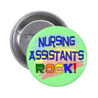 Nursing Assistants ROCK 6 Cm Round Badge