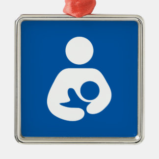 Nursing / Breastfeeding Symbol Christmas Ornament