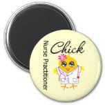 Nursing Career Chick Nurse Practitioner Fridge Magnet