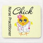 Nursing Career Chick Nurse Practitioner Mousemats
