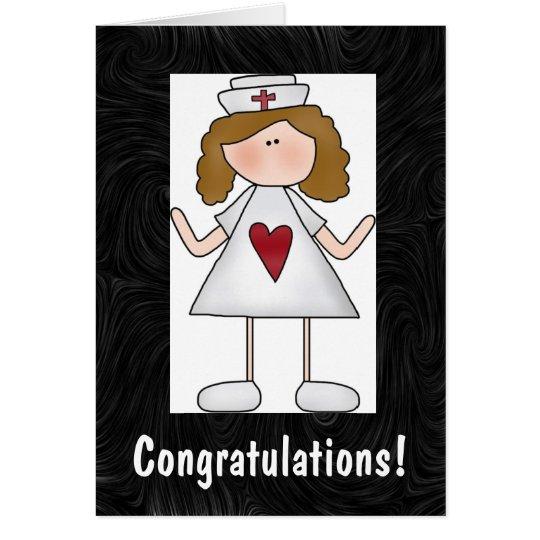 Nursing Congratulations Personalised Card