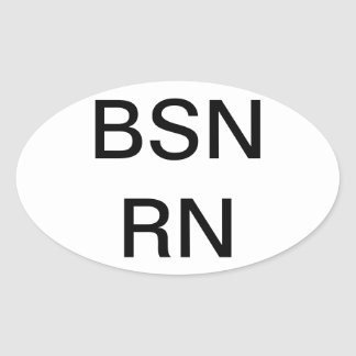 Nursing degree  BSN, Sticker